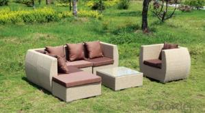 Garden Furniture Outdoor Sofa Patio  Wicker Rattan