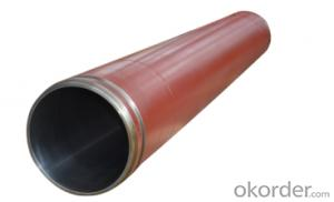 DELIVERY CYLINDER(ZOOMLION ) I.D.:DN200  CR. THICKNESS :0.25MM-0.3MM COLOR:WHITE    LENGTH:1187MM