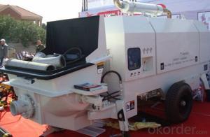 Concrete Machinery  Concrete Pump SP90.18.174D