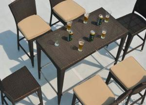 Good Quality Outdoor Rattan Garden Set  CMAX-MJT500