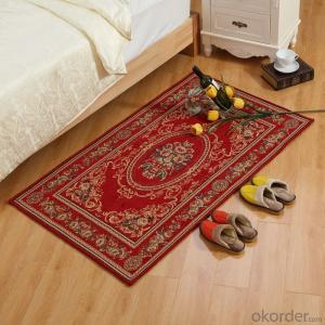 Popular Chenille Polyester Jacquard  Carpets and Rugs for Bedroom