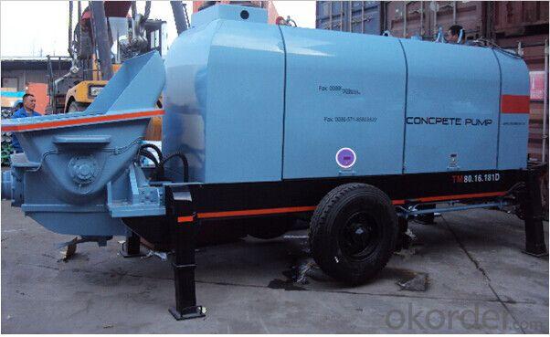 Concrete Machinery  Concrete Pump SP80.16.181D