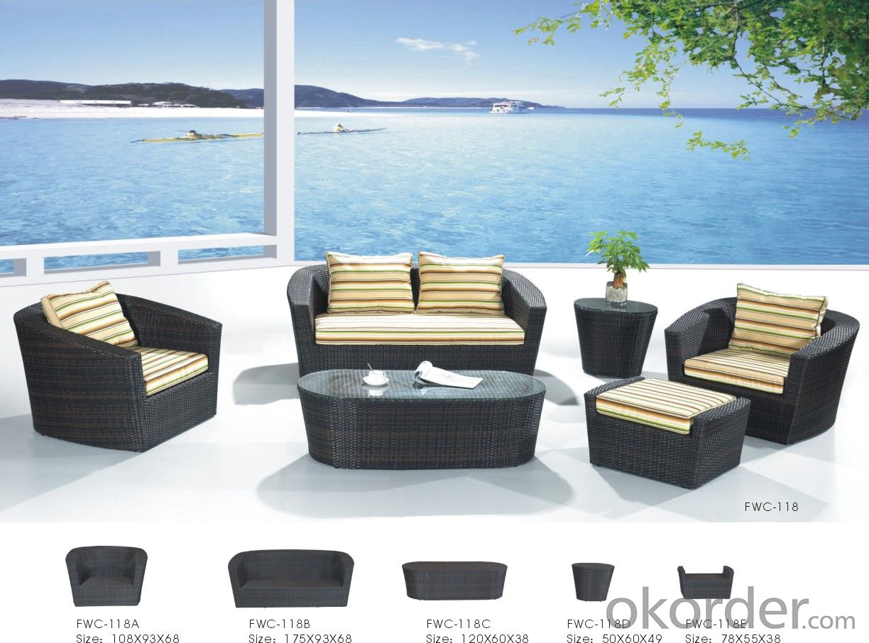Rattan Garden Furniture Outdoor Sofa Patio Chair