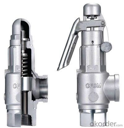 Safety Valves Made In China With Good Quality DN750