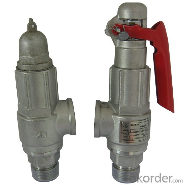 Safety Valve Made In China With Good Quality