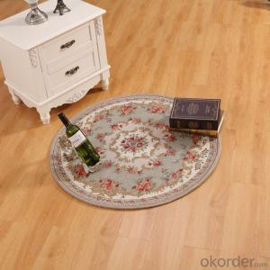 Round Hand Tufted Chenille Polyester Jacquard  Carpets and Rugs