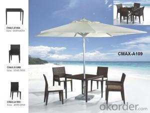 Garden Set by Hand Rattan & Aluminum Frame CMAX-A109