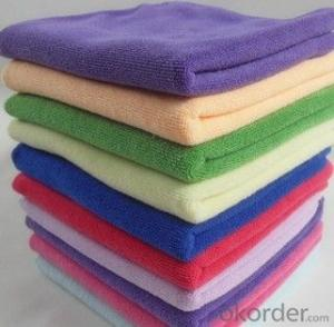 Microfiber cleaning towel with good quality in low price