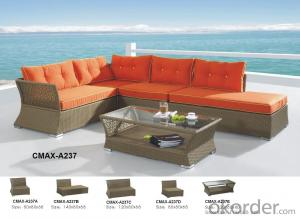 Outdoor Sofa with Chaise Bed for 2015 New Design CMAX-A237