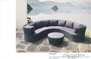 Garden Furniture Outdoor Sofa Patio  with Wicker Rattan