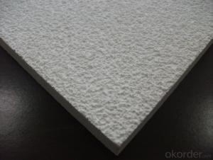 Mineral Fiber Ceiling Tiles with Different Textures