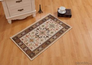 Fashion Design Chenille Polyester Jacquard  Carpets and Rugs