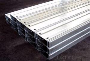 Galvanized Steel Structure Cold Rolled C Channel Purlin