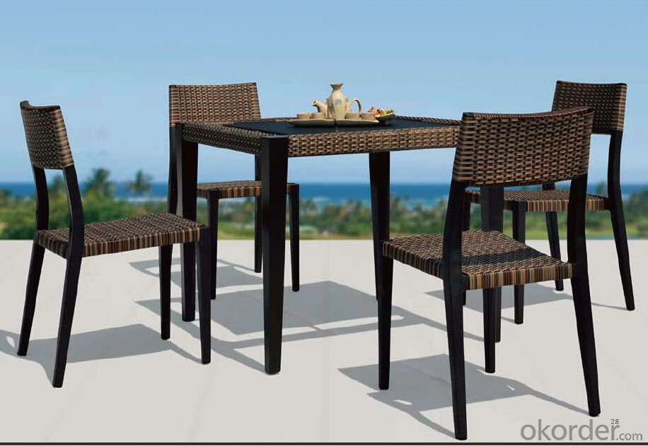 Outdoor Furniture Hand Rattan Garden Set  CMAX-MJT3018