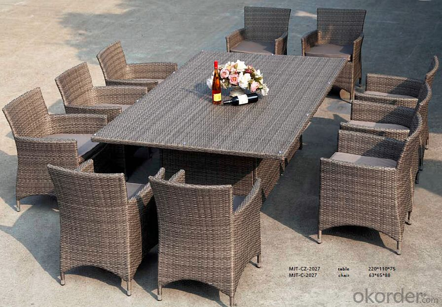 Good Quality Outdoor Rattan Garden Set  CMAX-MJT2027