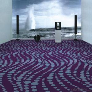 Wave Design 100% Nylon Printing Carpet for Luxury 5 Star Hotel