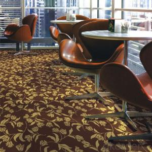Cut Pile Nylon Printed Commercial Carpet