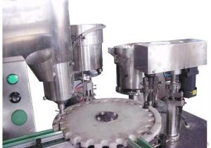 Rotary Powder Filling and Capping Machine & Linear Powder Filling Machine
