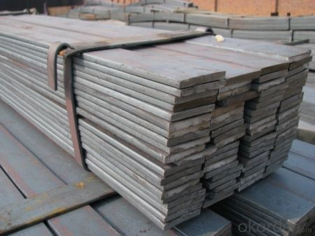 SS400 Q235B hot rolled steel flat bar Slitting flat bar galvanized flat bar