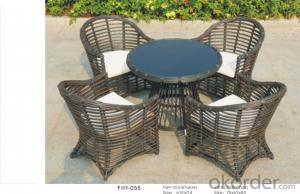 Wicker Rattan Garden Dining Outdoor Chair Patio Wicker Furniture