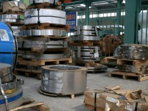Bulk rolled galvanized spring steel with grade A quality