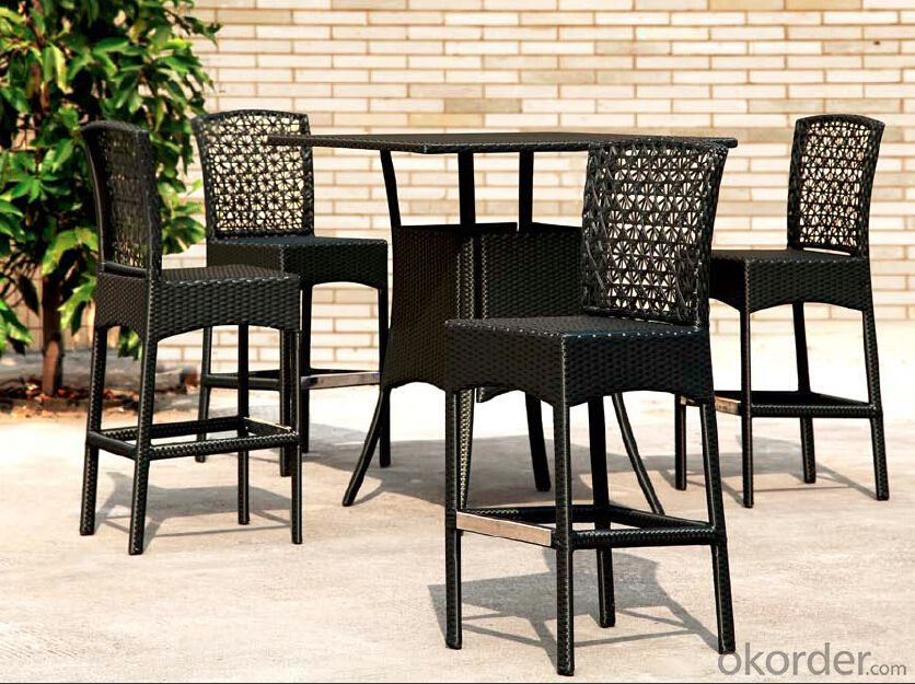 Outdoor Furniture Hand Rattan Garden Set  CMAX-MJT2011