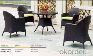 Outdoor Furniture Hand Rattan Garden Set  CMAX-MJT FY33