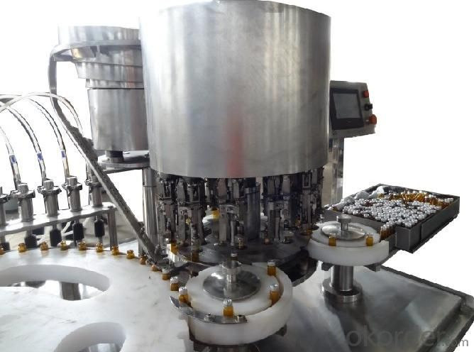 Oral Liquid Filling and Capping/Crimping Machine