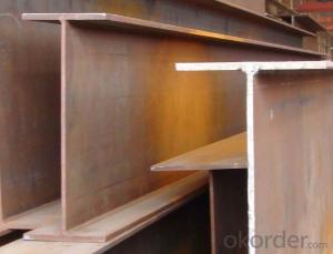 Hot sale welded h-beam, i beam, steel beams