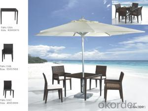 Rattan Outdoor Chair Patio Furniture Wicker Garden Dining Set