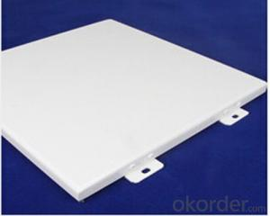 Popular Solid Aluminum Sheet with PVDF Coating