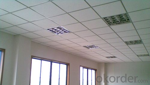 Mineral Fiber Ceiling Tiles for Buildings