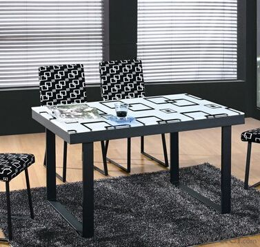Dining Room Furniture,Modern Glass Dining Table
