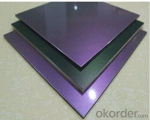 Chameleon Color Aluminium Composite Panel