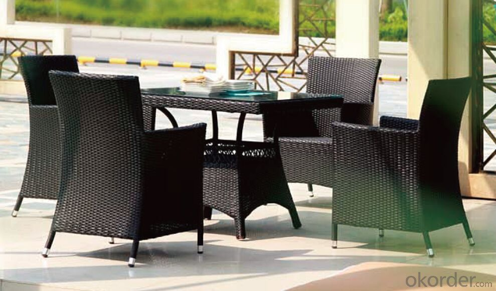 Outdoor Furniture Hand Rattan Garden Set  CMAX-MJT3015