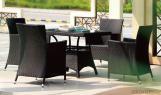 Conjunto mobiliario para jardín exterior de ratán hecho a mano CMAX-MJT3015