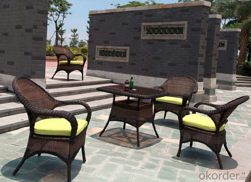Outdoor Furniture Hand Rattan Garden Set  CMAX-MJT12996