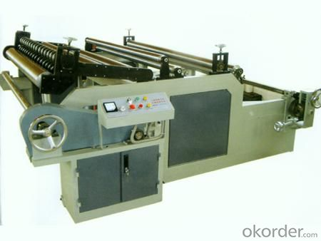 Cash Register Paper Roll Slitting Rewinding Machine