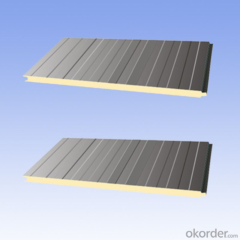 Cold room polyurethane sandwich panel high quality