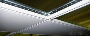 Ceiling T Bar/Grid for Ceiling 32H or 38H Good Quality Black lLine /Black Groove