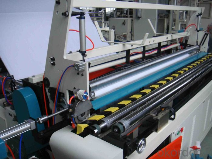 High Efficient Paper Roll Slitting Rewinding Machine