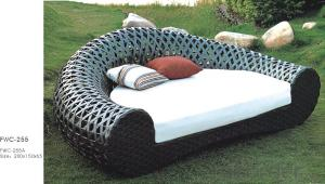 Garden Furniture Outdoor Sofa Patio Chair with  Rattan