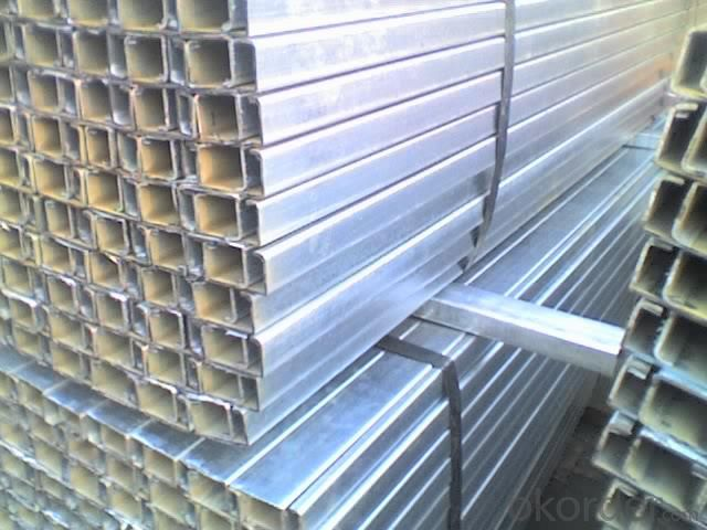 galvanized steel c channel AISI,ASTM,BS,DIN,GB,JIS