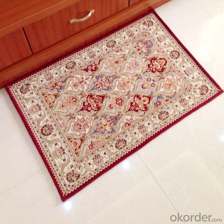 Luxury Design Chenille Polyester Jacquard  Carpets and Rugs