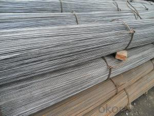 rebar steel 6mm/hot rolled deformed steel rebar