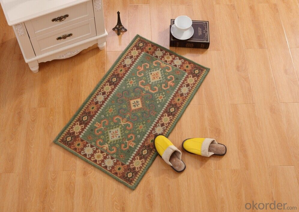 Hot Sale Chenille Polyester Jacquard  Carpets and Rugs