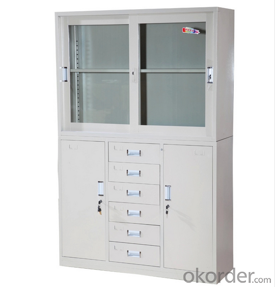 Steel  Locker Cabinet Metal Office Furniture School Locker