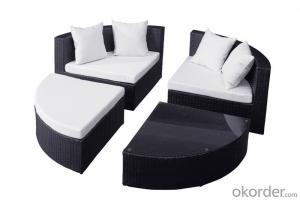 Garden Furniture Chair with  Rattan Outdoor Sofa Patio