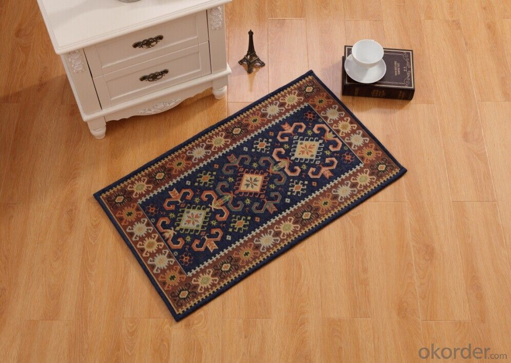 Good Quality Chenille Polyester Jacquard  Carpets and Rugs