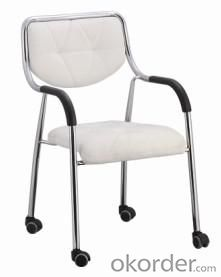 Training Chair Meeting Chair Stacking  Chairs Mesh PU Office Chairs CN03LW